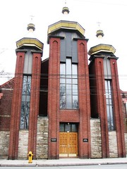 St Mary's Dormition Ukrainian Catholic Church , Toronto, ON (Snuffy) Tags: toronto ontario canada church placesofworship byzantinecatholic