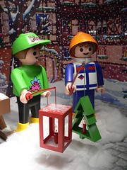 Playmobil1 (anniebaer) Tags: xmas light snow toy candles 2006 plastic mannheim playmobil faved wof impressedbeauty