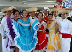 San Juan airport dancers