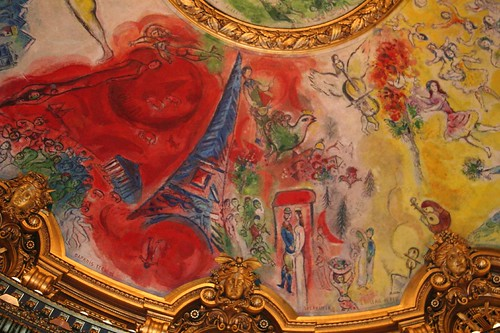 Chagall at the Opera