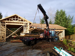 hoisting building materials #7624