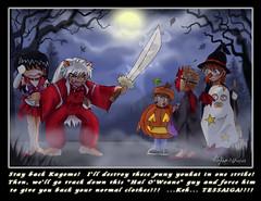It's Halloween Inuyasha