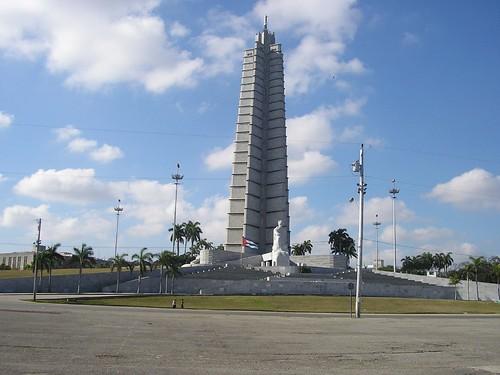 Monumento a José Martí por David G. Romero, en Flickr