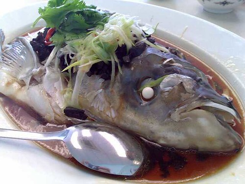 Steamed Olive Fishhead