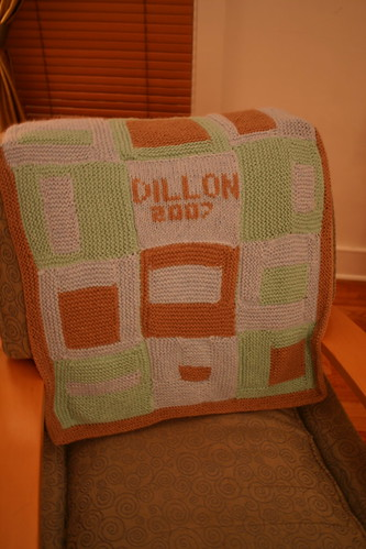 Baby blanket for Dillon