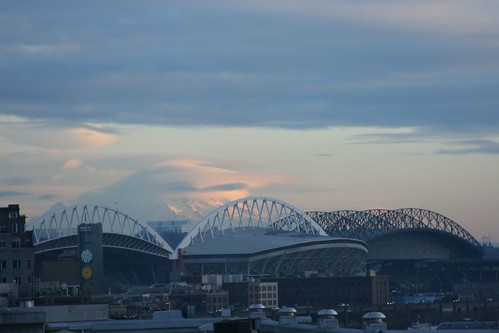 Mt. Rainier and Stadiums