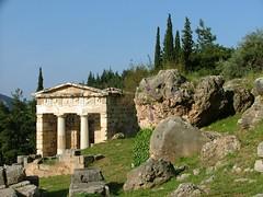 Delphi, Greece (LeszekZadlo) Tags: mountains heritage landscape ancient ruins europe delphi unesco greece archeology worldwonder ph340 spiritofphotography