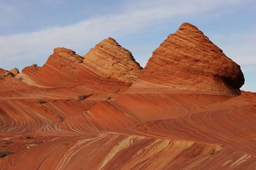 Ved 'The Wave', Arizona