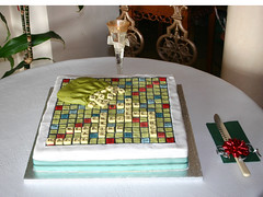 Scrabble Rocks! (Chrissie64) Tags: wedding food love cake interestingness flickr weddingcake special explore homemade scrabble icing exploreinterestingness tribute boardgame weddingday myfavourites 1000views scrabblefreak scrabbleboard madewithlove fancycake explored favouritegame themedcake scrabbleboardgame scrabblefeaks