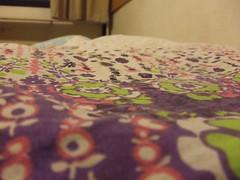 Survival Kit (inflex) Tags: flowers pattern blanket dormitory