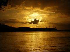 mi sol se apaga (*Giselle*) Tags: sunset sky sun nature beautiful yellow atardecer puertorico nubes reflejo tropical caribbean puestadesol nophotoshop nocrop 06 december31