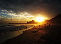 Copacabana sunset - by dckf_$êr@pH!nX