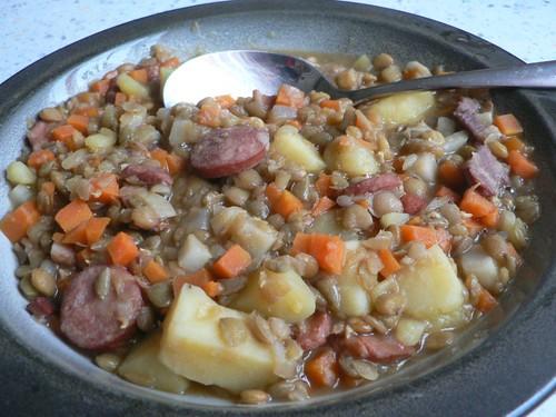 Sweet N Sour lentil soup