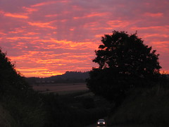 Sunset at Tisbury, Wiltshire, and a magazine used it and copyrighted it!!! :( (Andrew Kettell) Tags: life sunset sun tree clouds country salisbury wiltshire tisbury