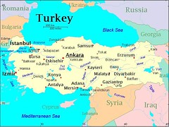 Peta Turkey
