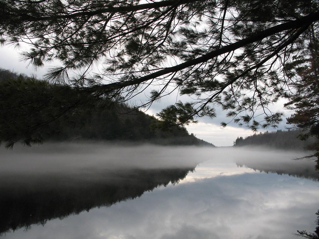 January fog on the Madawaska