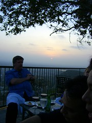 Joe and the sunset (FrogMiller) Tags: california ca sunset orange sun restaurant view drinking romance socal alcohol romantic lawyers orangecounty lawyer happyhour theoc attorney settingsun barristers orangehill attorneys ocbarristers ocba