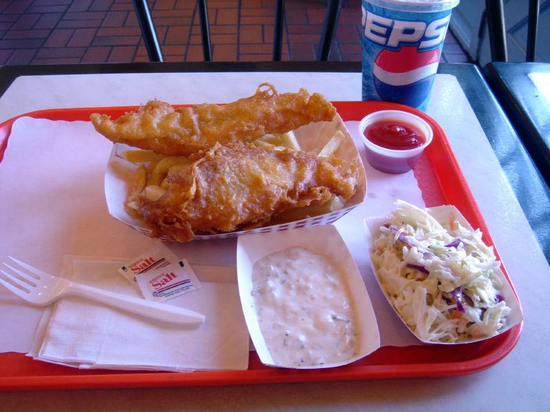 Icelandic Cod Fish & Chips