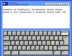 teclado virtual en linea