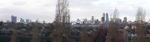 London from Stave Hill