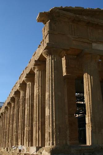 Side View of the Templo di Concordia