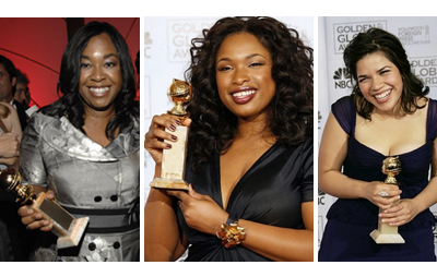Full Figured Women Shine at The Golden Globes