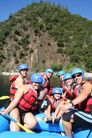 group rafting
