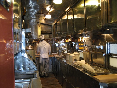 Dining Car Kitchen