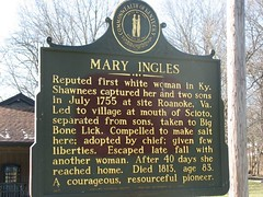 mary ingles ingalls sign