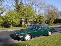 P1010009 (saabfan) Tags: park green sport racing eastbourne british 1991 jaguar hampden xj xj6 6cyl xj40 6cylinder 200hp 200bhp