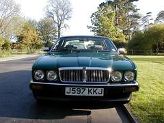 P1010020 (saabfan) Tags: park green sport racing eastbourne british 1991 jaguar hampden xj xj6 6cyl xj40 6cylinder 200hp 200bhp