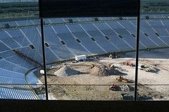 Under Construction (chubb0rz) Tags: stadium packers greenbay