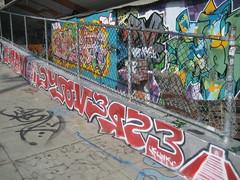 bombed (kewlio) Tags: sanfrancisco graffiti dzyer zel vomut