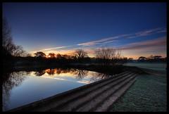 North Lake Sunrise (misterpulcri) Tags: sunrise sigma hdr bracknell northlake cokin p121 sigma1020 tonemap gnd8