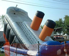 titanic (srhbth) Tags: ohio festival slide fair inflatable disaster titanic poortaste appalling canfieldfair northeastohio mahoningcounty
