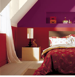 Cool Paint Ideas: Red Bedrooms   Cool Paint Ideas   Zimbio