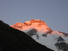 Early Morning Light (Peter Stephens) Tags: newzealand mountcook canondigitalixus430