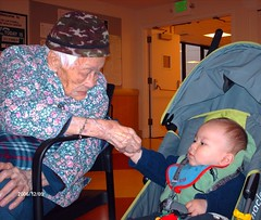Diego and great-greatgrandmother