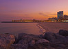 Alkout Beach Sunset (Hussain Shah.) Tags: sunset beach mall d50 nikon kuwait fahaheel alkout