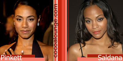Separated at Birth: Jada Pinkett and Zoe Saldana