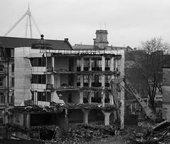 Tearing Down Cardiff