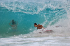 Living Dead Girl (mandolin davis) Tags: beach sports hawaii oahu action body boarding vr sandys ifed 70300mmf4556gvr