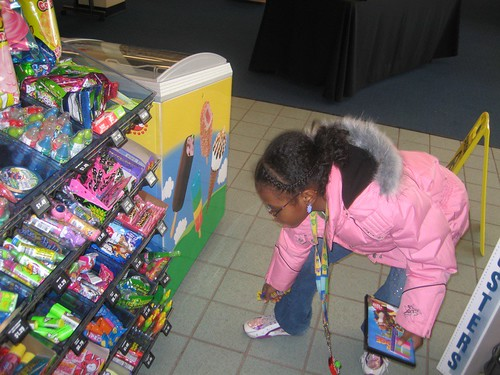 Shayna Choosing Her Birthday Gift