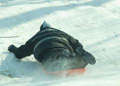 "Sled riding ""07"" (BigD&LittleA) Tags: snow children sledriding tyfischer"