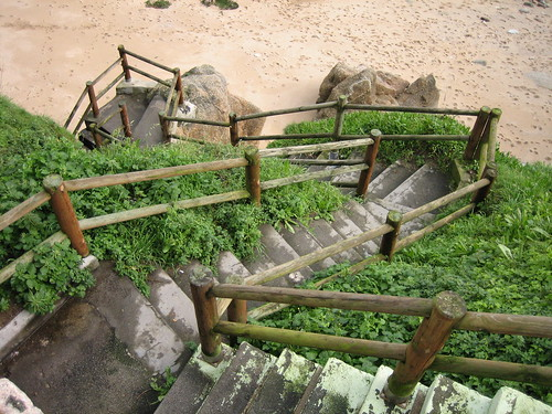 Escaleras a la playa