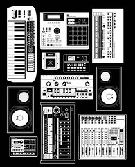 Music Hardware (Accent Creative) Tags: music 2000 sampler drum 10 ns pad machine synth roland korg yamaha electronic 909 tb tr mpc akai kaoss 303