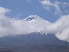 Nevado del Cotopaxi volcán Parque nacional alpinismo andinismo Andes Ecuador