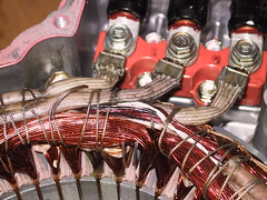 MG2 stator winding  close-up (florian_steiper) Tags: failure prius hybrid transmission mg2 stator transaxle