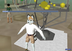 This is about as far as I can get on Second Life before it crashes on me.