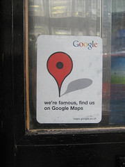 Google Maps Sticker